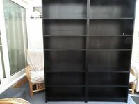 "Ikea ""Billy"" bookcases"
