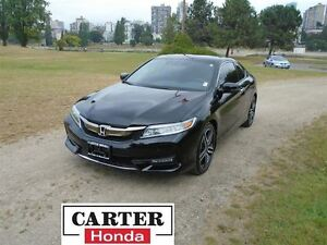 2016 Honda Accord Touring V6 CPE + NAVIGATION + LEATHER + TOP MO