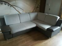 corner sofa bed with bedding case for sale,very clear,good condition,price £160 Size: L240 W180 H90
