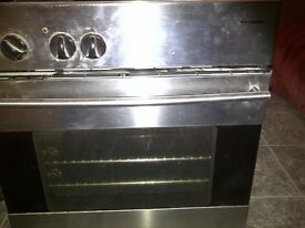 Standard sized Electric Beko under counter oven