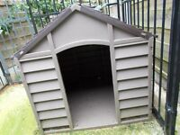 "A large dog kennel 2ft 9""/ 2ft 3"" approx and a large compound 6ft / 4ft approx never used £200."