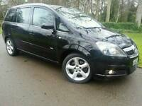 VAUXHALL ZAFIRA SRI 1.9 CDTI 150-BHP 2007 07'REG*FSH*PRISTINE CONDITION*7 SEATS*#SHARAN#TOURAN#SMAX