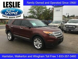 2015 Ford Explorer XLT | 4WD | One Owner | Navigation