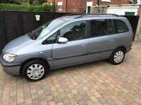 Zafira 7 seater people carrier car van family