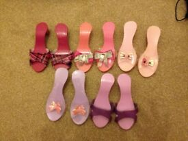 5 Pairs Chad Valley Dressing up Shoes