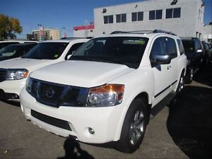 2011 Nissan Armada Platinum  4X4  Heated Leather  Loaded