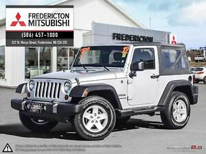 2012 Jeep Wrangler SPORT! REDUCED! ALLOYS! ONLY 87K!