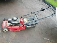 Mountfield electric key start lawn mower