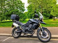 Triumph Tiger 800 - Barely used. Excellent condition. Full winter pack.