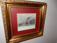 TURNER PRINT - OLD - IN VERY GOOD CONDITION