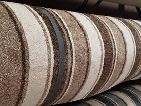 Fully fitted carpet on new underlay £19.99 per square metre all in. Heavy domestic 100% poly prop