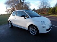2010 59 FIAT 500 POP 1.2 39000 MILES FSH MOT JANUARY 2018