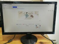 """Acer P196HQV 18.5"""" Wide LCD Flat Monitor"""