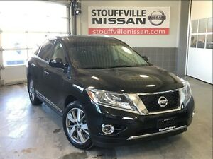 Nissan Pathfinder platinum nissan certified pre owned low rates