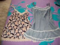 x2 nighties nightwear (mini) nightwear XS ladies used VG condition Cash only London. VICTORIA SECRET