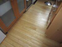 Beech T&G flooring