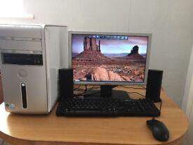Dell Inspiron 530 PC - specs are - 2GHz Pentium dual core-2GB RAM- 360GB hard drive
