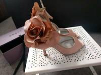 COAST: Anjolie pink heels size 5, RRP £85