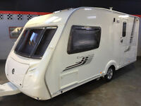 SWIFT CHALLENGER 480, LUXURY TOP SPEC 2 BERTH CARAVAN, MOTOR MOVER, AWNING, FULL ACCESSORIES SUPERB