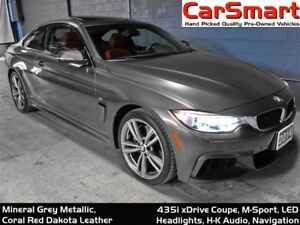 2014 BMW 435i xDrive, M-Sport, 1 Owner, Accident Free