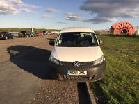 VOLKSWAGEN CADDY 1.6 TDI BlueMotion Tech 75PS Van 2012 WHITE Manual