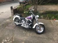 Harley davidson fatboy 1993 softail 1340cc