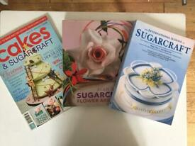 A selection of cake books