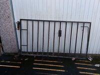 Pair of Iron driveway gates.