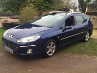Peugeot 407 SW 1.6 HDI SV 2007 12 months warranty CHEAP Pan roof Estate