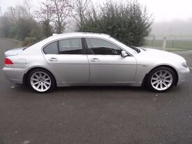 2003 BMW 745 I AUTO 4.4 FULL LEATHER CRUISE CONTROL SAT NAV FULLY HPI CLEAR EVERY CONCEIVABLE EXTRA