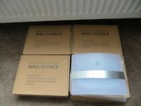 MOTION ACTIVATED WALL LIGHTS X 4 - INTERNAL