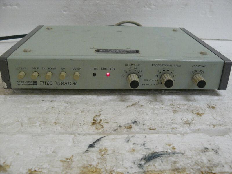 RADIOMETER COPENHAGEN TTT 60 TITRATOR CONTROLLER