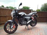 KSR CODE 125CC Learner Legal Motorcycle