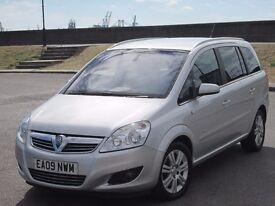 2009 (09 reg), Vauxhall Zafira 1.9 CDTi Elite 5dr, LEATHER SEATS