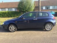 REDUCED TO SELL - Alfa Romeo 147 Turismo 1.9 JTD M-Jet, Diesel, 50+mpg, Hatchback
