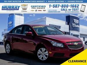 2014 Chevrolet Cruze 1LT**One Owner!  Remote Start!**