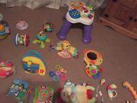 children's toys selection