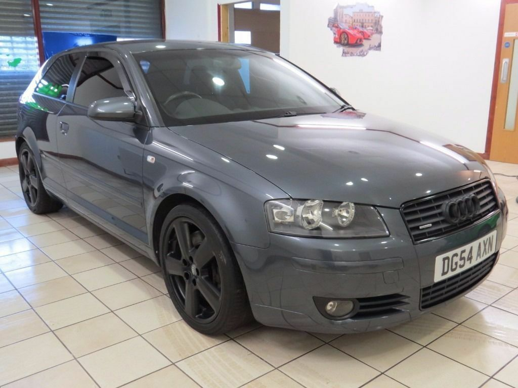 v6 2004 audi a3 3 2 quattro s line dolphin grey service history low miles must be. Black Bedroom Furniture Sets. Home Design Ideas