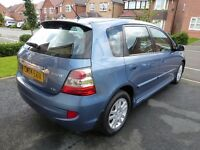 Honda Civic 1.6 Executive, 74444 miles, 2004, leather interior, air con, cd player, sunroof