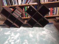 Conran CD / DVD storage: two units