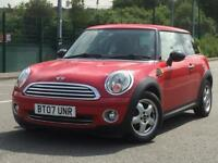 MINI ONE 2007 (07 REG)*£2999*LOW MILES*LONG MOT*FULL SERVICE HISTORY*PX WELCOME*DELIVERY