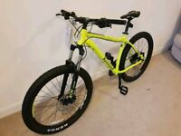 mens large mountain bike 27.5 650b voodoo wazoo halfords