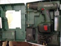 Bosch Power Driver / Drill PSB 24 VE-2 Working order but needs battery. Complete with carry case
