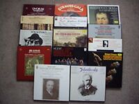 CLASSICAL MUSIC LP BOXSETS IN FABULOUS CONDITION .