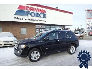 2015 Jeep Compass High Altitude, Heated Leather Seats, 15,316 KM