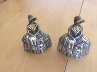 1950's ornamental brass bells