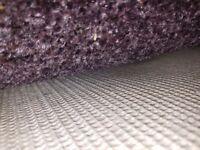 Carpet large mottled purple 15ft x 13ft