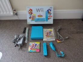 Boxed Wii Mario & Sonic At The London 2010 Olympic Games Limited edition Pack.