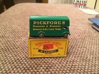 Matchbox series Pickford's removal van new model, toy no. 46