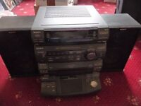 INCOMPLETE SONY STEREO SYSTEM FOR SALE